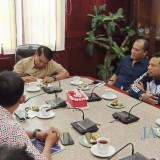 Temui Sekda Kota Malang, PWI Jatim Siap Gelar Porwanas