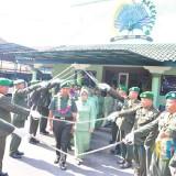 Dandim 0808/Blitar Pimpin Upacara Sertijab Danramil Jajaran dan Anggota MPP