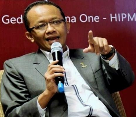 Kepala BKPM Bahlil Lahadalia melaporkan adanya oknum gubernur di Kalimantan yang hambat investasi. (Ist)