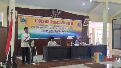 Bupati Ajak Guru Ngaji Diskusi Metode Ngaji Qur'an