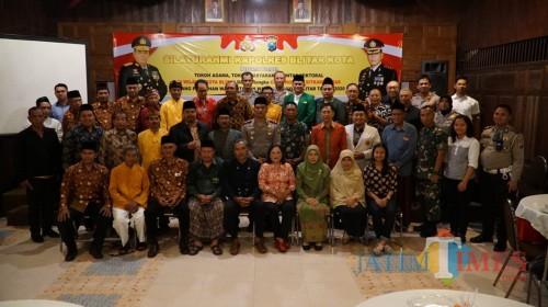 Silaturahmi Kapolres Blitar Kota dengan Togatomas.(Foto : Team BlitarTIMES)