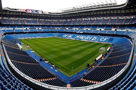 Stadion Santiago Bernabeu, Madrid, Spanyol, yang rencananya akan dikunjungi oleh Bupati Malang Sanusi dan rombongan dalam rangka studi replikasi (realmadrid.com)