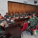 Monitoring Program Kerja,  Wasrik Itdam V/Brawijaya Kunjungi Kodim 0808/Blitar