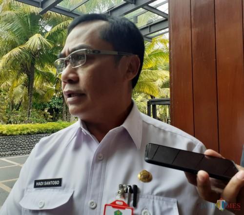 Kepala DPUPRPKP Kota Malang, Hadi Santoso (Arifina Cahyanti Firdausi/MalangTIMES)