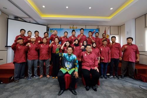 Resmi Dilantik, Pengurus HIPMI Kabupaten Kediri Siap Turun ke Lapangan