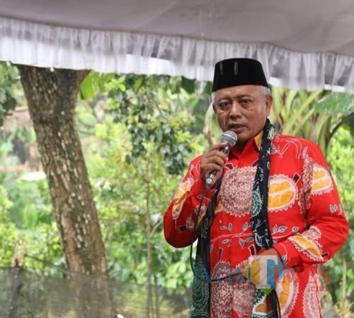 Bupati Malang Sanusi meminta agar eksploitasi sumber air tak membuat masyarakat dirugikan dan lahan pertanian kekurangan air (dok MalangTimes)