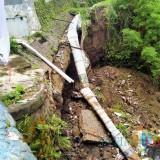 Plengsengan Ambrol, Rumah di Kawasan Pisang Candi Terancam, Akses Jalan Warga Juga Terhambat