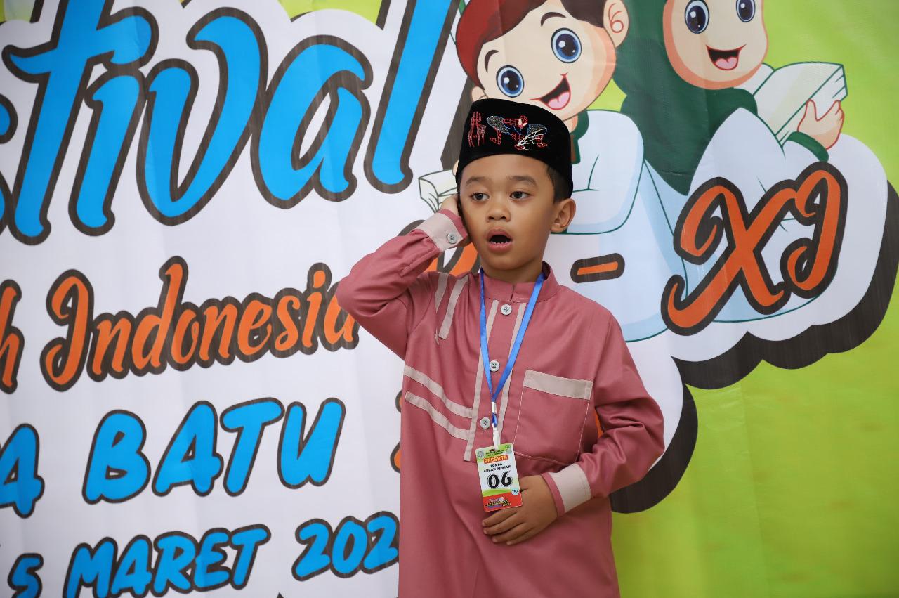 126 Peserta Unjuk Kebolehan Di Festival Anak Sholeh Kota