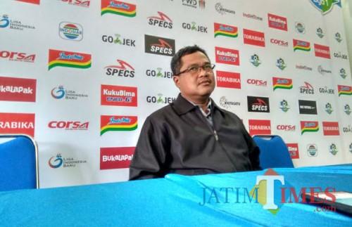 Ketua Panpel Arema FC, Abdul Haris (foto dok MalangTIMES)