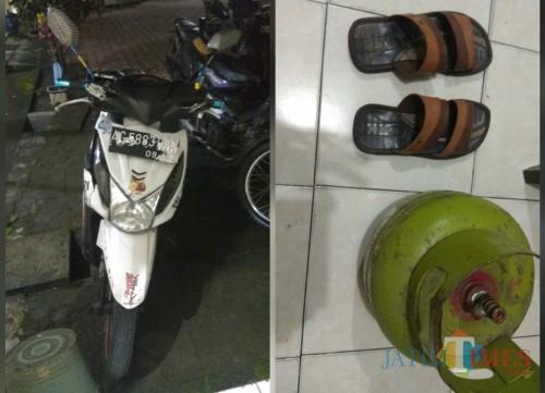 "Curi Tabung Gas, Maling Ini Malah ""Kehilangan"" Sepeda Motor dan Sandal"