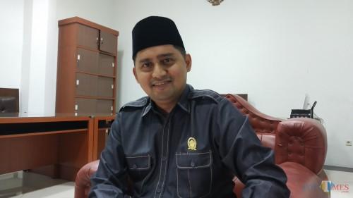 Anggota Komisi C DPRD Kota Malang Ahmad Fuad Rahman. (Pipit Anggraeni/MalangTIMES).
