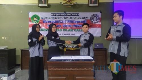 Mahasiswa TI Unisba Blitar Gelar Pemilihan Ketua Himaprodi Periode 2020-2022