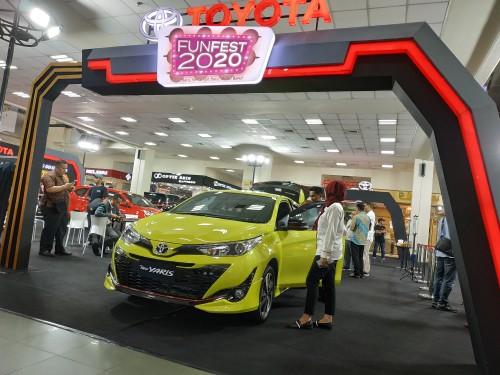Suasana Toyota Expo 2020 di Matos (Hendra Saputra)