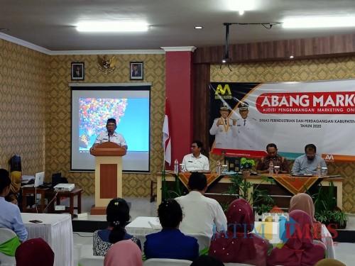 Lewat ABANG MARKO, Bupati Rijanto Dorong Produk IKM Kabupaten Blitar Tembus Pasar Dunia