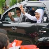 Kunjungi Desa di Ujung Jawa Timur, Gubernur Khofifah Disambut bak Presiden RI
