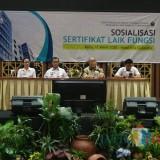 DPUPRPKP Gencar Sosialisasi Sertifikat Laik Fungsi Bangunan