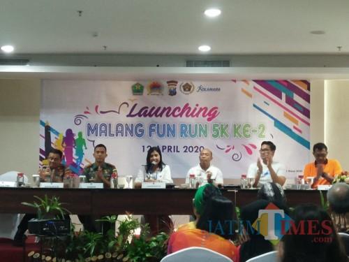 Launching Malang Fun Run 2. (Muslimin/MalangTIMES).