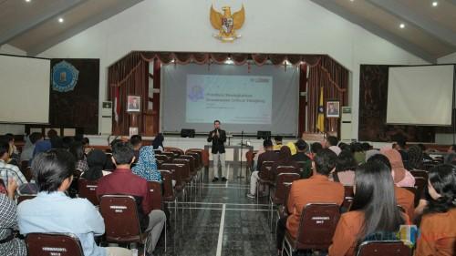 Mahasiswa Unikama mengikuti Pelatihan Meningkatkan Kemampuan Critical Thinking. (Foto: Mamat for MalangTIMES)