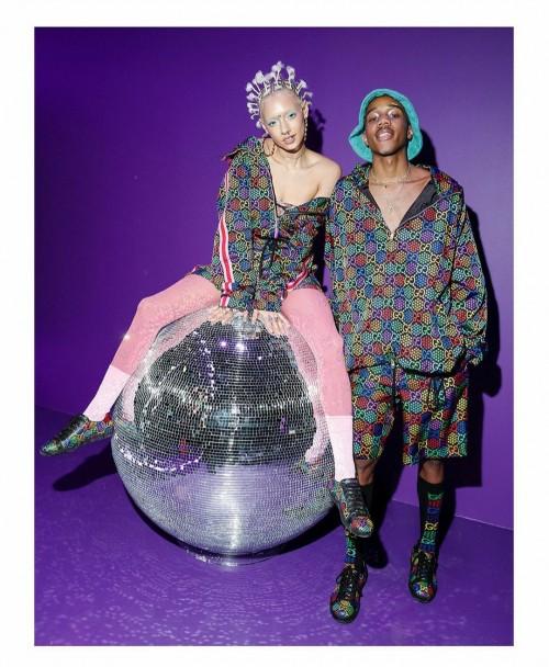 Back to 70's, Streetwear Monogram Gucci Psychedelic Bisa Jadi Koleksi Lho!