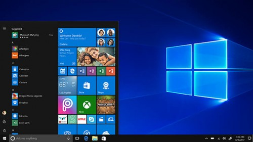 Tampilan Windows 10 (pcmag)