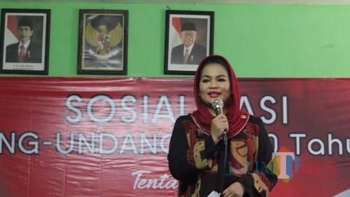 Puti Bantah Miliki Jubir di Pilwali Surabaya