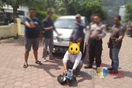 Komplotan Maling Bermobil Tabrak Kendaraan Polisi, Satu Ditangkap dan  Tiga Kabur