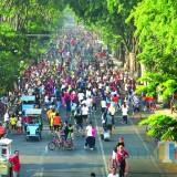Cegah Penularan Virus Corona, Pemkot Surabaya Tiadakan Sementara Car Free Day