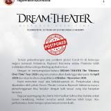 Dream Theater Jadwal Ulang Konser Turnya di Indonesia Akibat Corona
