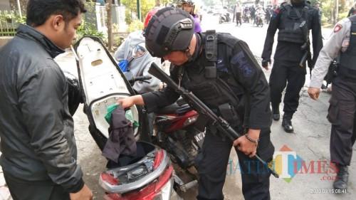 Harlah Perguruan Silat Pagar Nusa, Polisi Periksa Barang Bawaan Peserta