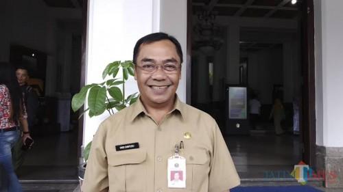 Kepala Dinas PUPRPKP Kota Malang, Ir. Hadi Santoso (Dokumentasi MalangTIMES).