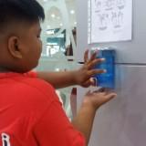 Suncity Mall Madiun Sediakan Sanitizer Untuk Pengunjungnya