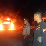 Korsleting Listrik Saat Isi BBM, Tiga Kendaraan Terbakar di SPBU