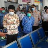 Pastikan Pelayanan Publik dan SOP Pencegahan Covid-19, Wagub Jatim Pantau Terminal Kota Batu