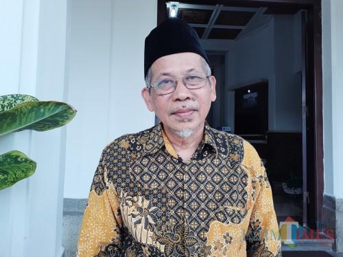 Penasihat PD Muhammadiyah Kota Malang, Taufiq Kusuma. (Arifina Cahyanti Firdausi/MalangTIMES)