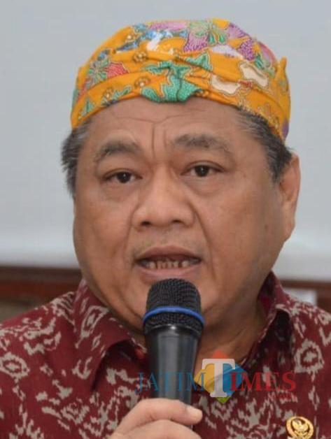 Anggota DPR RI Dapil Malang Raya dari Partai Golkar Ir H M Ridwan Hisjam. (istimewa)