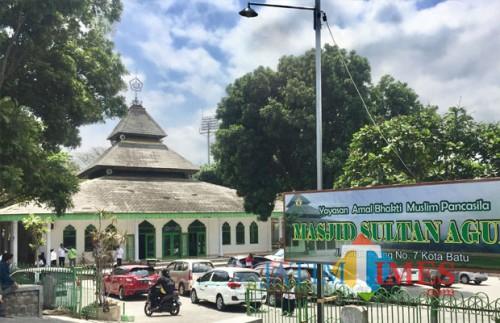 Masjid Sultan Agung terletak di Jl Sultan Agung, Kelurahan Sisir, Kecamatan Batu. (Foto: Irsya Richa/MalangTIMES)