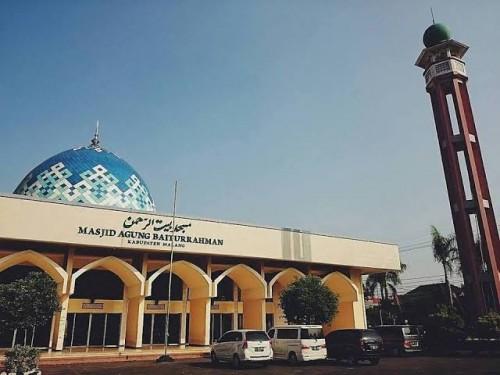 Masjid Agung Baiturrahman Kabupaten Malang. (Foto: Istimewa)