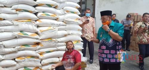 Corona Pengaruhi Ekonomi, Plt Wali Kota Blitar Pantau Harga dan Ketersediaan Stok Pangan