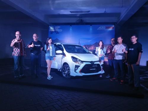 Launching New Agya di showroom Auto2000 Sukun Malang (Hendra Saputra)