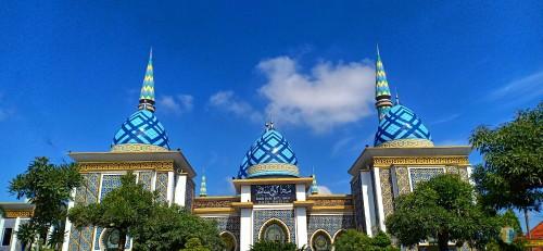 Masjid Besar Agung Baitul Hakim (Foto: Dokumen MadiunTIMES)