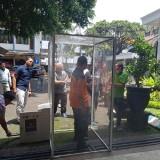 Posko Tim Satgas Covid-19 Dipasang Anti Virus, Rumah ODP dan PDP di Kabupaten Malang Disemprot Disinfektan