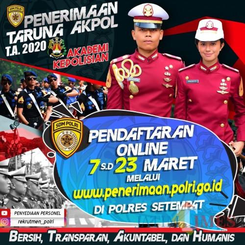 Polri Buka Pendaftaran Anggota / Foto : Istimewa / Tulungagung TIMES
