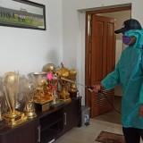 Malang Masuk Zona Merah Corona, Kantor dan Mess Arema FC Disemprot Disinfektan