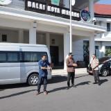 Tangkal Corona, Kota Malang Edukasi Bergerak di Bawah Sinar Matahari