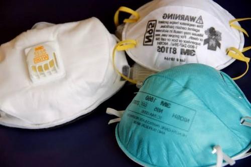 Ilustrasi masker bedah dan masker N-95 yabg diperuntukkan bagi tenaga medis di seluruh Indonesia. (Foto: Istimewa)