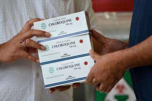 Obat Chloroquine yang digunakan untuk tahap penyembuhan pasien Covid-19. (Foto: Istimewa)