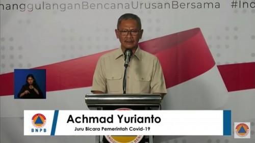 Achmad Yurianto, Juru bicara Presiden terkait persebaran virus Corona atau Covid-19 di Indonesia. (Foto: BNPB)