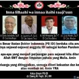 Para Dokter yang Meninggal di Saat Pandemi Covid-19 Menyerang Indonesia