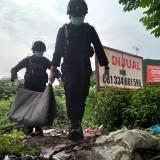 Pemulung Temukan Mortir di Lahan Kosong Jalan Hasyim Asy'ari Kota Malang
