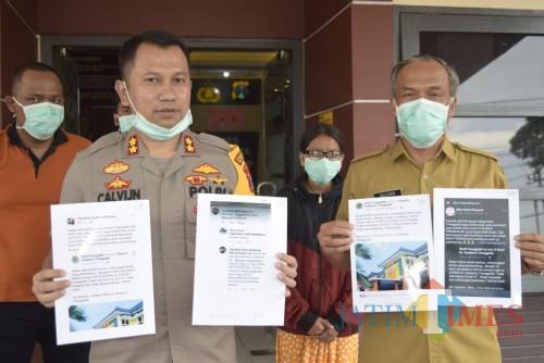Polres Trenggalek panggil dua netizen penyebar berita hoaks virus Corona